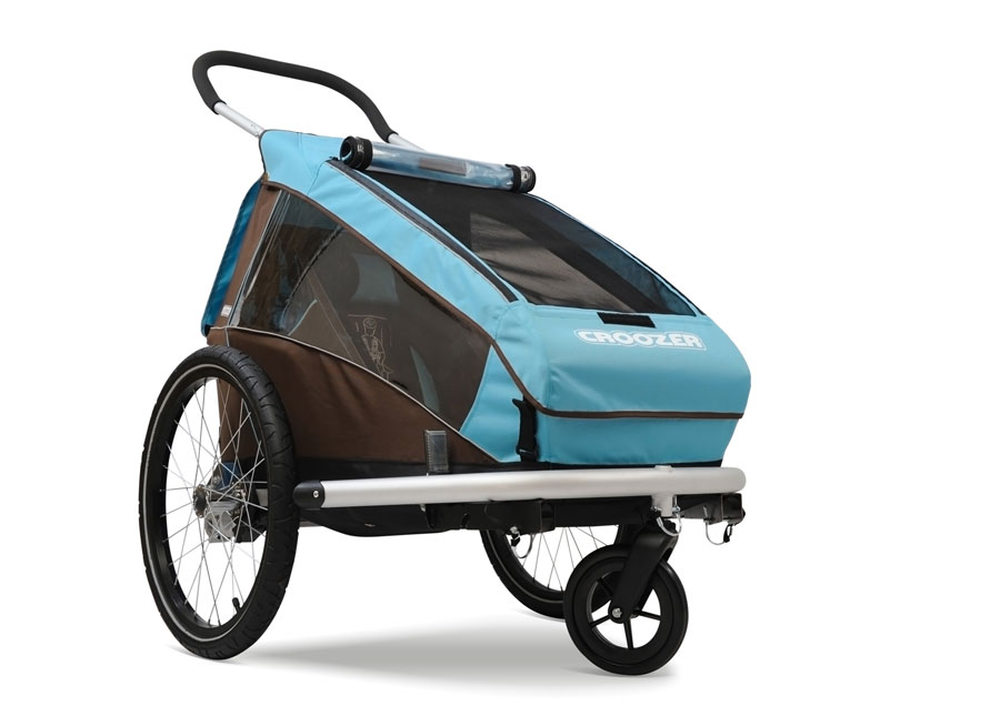 plegabike bicicletas remolque croozer kid plus 1. Black Bedroom Furniture Sets. Home Design Ideas