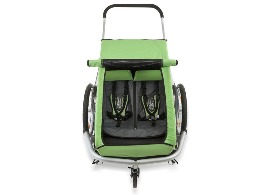 plegabike bicicletas remolque croozer kid 2. Black Bedroom Furniture Sets. Home Design Ideas