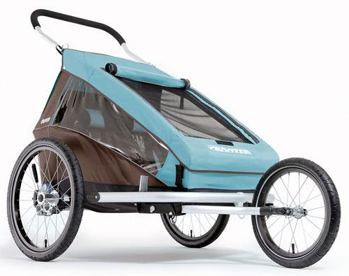 plegabike bicicletas remolque croozer kid plus 2. Black Bedroom Furniture Sets. Home Design Ideas